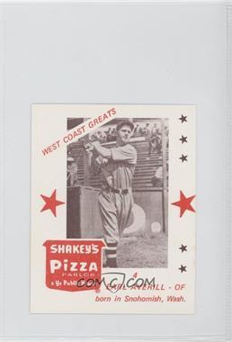 1975 Shakey's Pizza West Coast Greats - [Base] #4 - Earl Averill