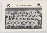 1975 Fort Lauderdale Yankees Team Photo