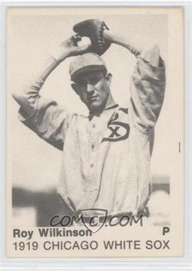 size 40 6915c 30a2d 1975 TCMA 1919 Chicago White Sox - [Base] #ROWI - Roy Wilkinson