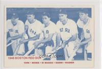 Rudy York, Wally Moses, Dom DiMaggio, Bobby Doerr, Hal Wagner (Blue Back, All R…