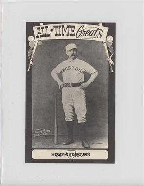 1975 TCMA All-Time Greats - [Base] - Postcard Back #HORA - Hoss Radbourn [Good to VG‑EX]