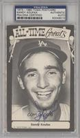 Sandy Koufax [PSA/DNA Certified Auto]
