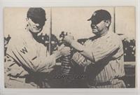 Walter Johnson, Babe Ruth (No Copyright)
