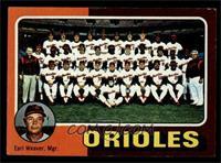 Baltimore Orioles Team, Earl Weaver [EXMT]