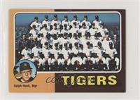 Detroit Tigers Team Checklist (Ralph Houk)