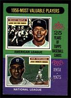 1956-Most Valuable Players (Mickey Mantle, Don Newcombe) [EXMT]