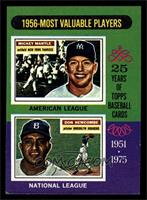 1956-Most Valuable Players (Mickey Mantle, Don Newcombe) [EX]