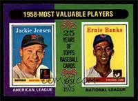 Jackie Jensen, Ernie Banks [NM]