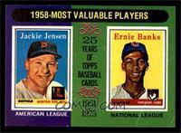 Jackie Jensen, Ernie Banks [VG]