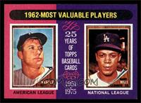 Mickey Mantle, Maury Wills [NM MT]