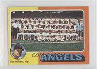Los Angeles Angels Team, Dick Williams
