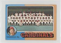 St. Louis Cardinals Team, Red Schoendienst [GoodtoVG‑EX]