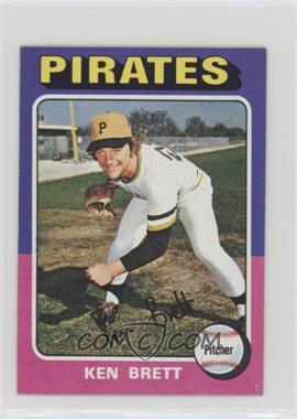 1975 Topps - [Base] - Minis #250 - Ken Brett