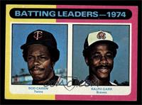 Rod Carew, Ralph Garr [EX MT]