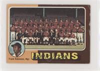 Cleveland Indians Team, Frank Robinson [NonePoortoFair]
