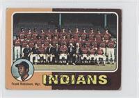 Cleveland Indians Team, Frank Robinson [NoneGoodtoVG‑EX]