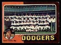 Los Angeles Dodgers Team, Walt Alston [POOR]