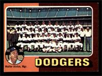 Los Angeles Dodgers Team, Walt Alston [EX]