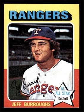 1975 Topps - [Base] - Minis #470 - Jeff Burroughs [EX] - Courtesy of COMC.com