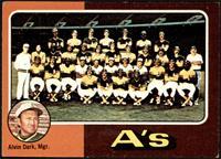 Oakland Athletics Team, Alvin Dark [VG]