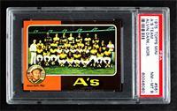 Oakland Athletics Team, Alvin Dark [PSA8NM‑MT]