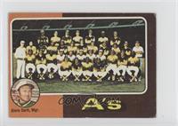 Oakland Athletics Team, Alvin Dark [NoneGoodtoVG‑EX]