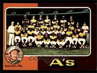 Oakland Athletics Team, Alvin Dark [EXMT]