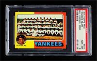 New York Yankees Team, Bill Virdon [PSA8NM‑MT]
