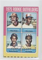 1975 Rookie Outfielders (Dave Augustine, Pepe Mangual, Jim Rice, John Scott)