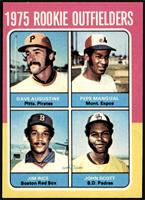 1975 Rookie Outfielders (Dave Augustine, Pepe Mangual, Jim Rice, John Scott) [E…