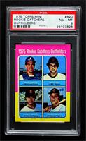 Gary Carter, Marc Hill, Danny Meyer, Leon Roberts [PSA 8 NM‑MT]
