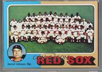 Boston Red Sox Team, Darrell Johnson [Poor to Fair]