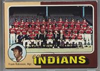 Cleveland Indians Team (Frank Robinson) [Poor to Fair]
