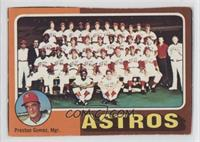 Houston Astros Team, Preston Gomez [Good to VG‑EX]