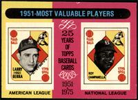 1951-Most Valuable Players (Yogi Berra, Roy Campanella) [NM MT]