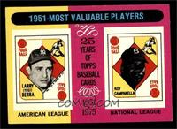 1951-Most Valuable Players (Yogi Berra, Roy Campanella) [EX]