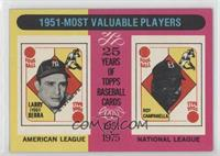 1951 Most Valuable Players (Yogi Berra, Roy Campanella)
