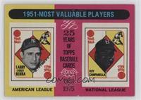 1951 Most Valuable Players (Yogi Berra, Roy Campanella)