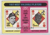 1951-Most Valuable Players (Yogi Berra, Roy Campanella) [PoortoFair]