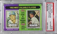1952-Most Valuable Players (Bobby Shantz, Hank Sauer) [PSA/DNACertified&n…