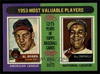 1953-Most Valuable Players (Al Rosen, Roy Campanella) [NM MT]