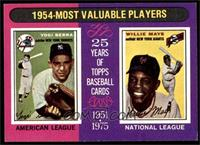 1954-Most Valuable Players (Yogi Berra, Willie Mays) [EX]