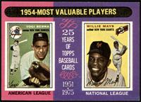1954-Most Valuable Players (Yogi Berra, Willie Mays) [NM]