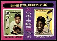 1954-Most Valuable Players (Yogi Berra, Willie Mays) [VGEX]