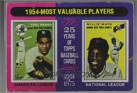 1954-Most Valuable Players (Yogi Berra, Willie Mays) [Poor]