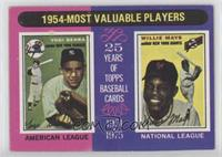 1954-Most Valuable Players (Yogi Berra, Willie Mays)