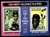 1954-Most Valuable Players (Yogi Berra, Willie Mays) [VG]