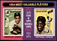 1954-Most Valuable Players (Yogi Berra, Willie Mays) [NM MT]
