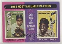1954-Most Valuable Players (Yogi Berra, Willie Mays) [Poor to Fair]