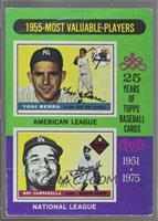 1955-Most Valuable Players (Yogi Berra, Roy Campanella) [Poor]